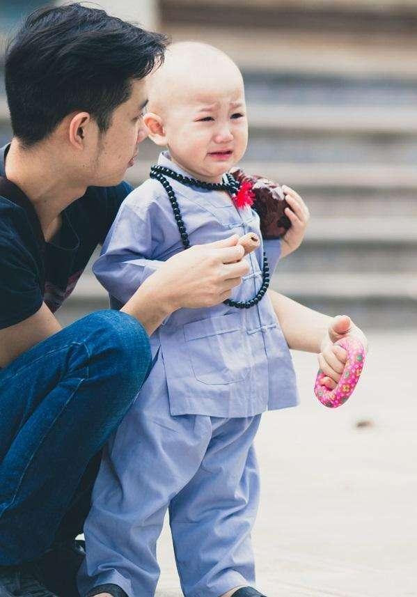 越南小和尚 被女施主纠缠 大哭喊师傅在哪 萌化了 -  - 真光 的博客
