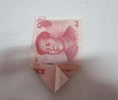 100元钱折花大全 图解