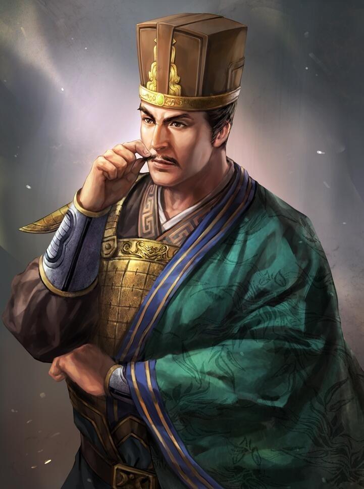 《三国志13:威力加强版》武将高清立绘