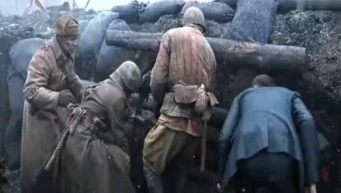 2018一部俄罗斯战争大片,穿越至二战,场面火爆,燃爆了