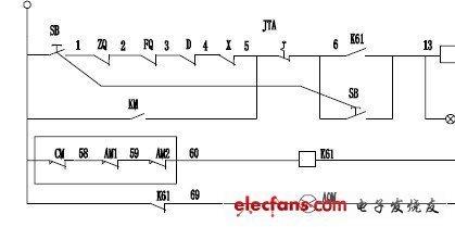 谁有电子版天车电路图?