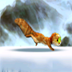 狸猫闯冰关