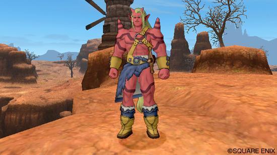 巨人族男性角色形象
