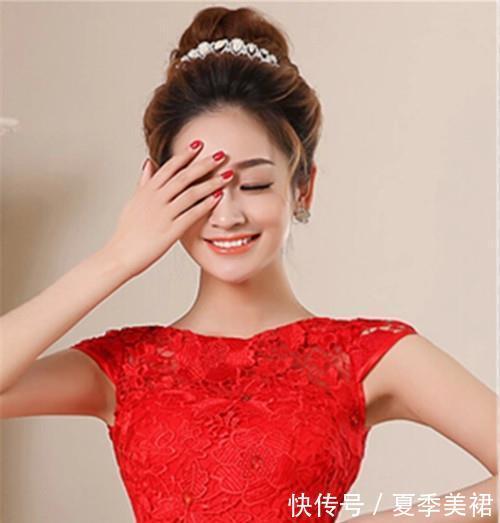 新娘礼服发型图片精选新娘礼服与发型怎么搭配好看