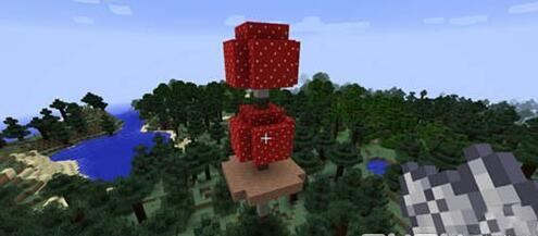 巨大的蘑菇