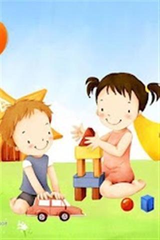 儿童节快乐壁纸_360手机助手