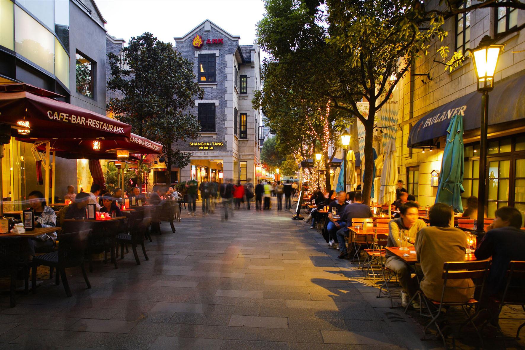 中国街道背景素材