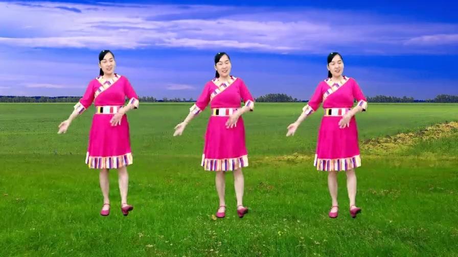 草原天籁广场舞《雪山阿佳》豪情万丈,浪漫情怀,赏心悦目