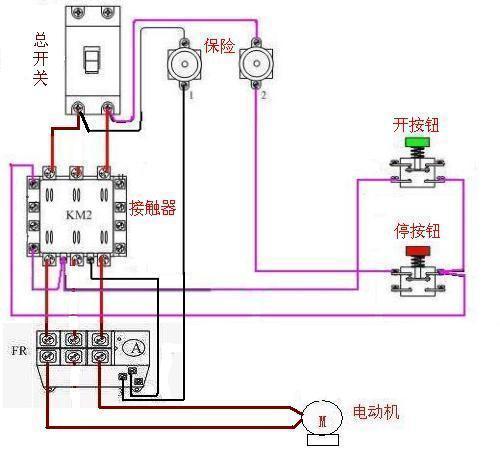14脚220v继电器接线图_220v继电器接线图