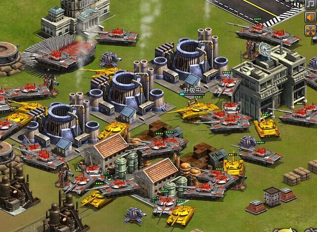 有没有和电脑游戏红警 类似的 手机版的单机游戏
