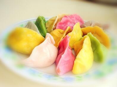 今天冬至,吃出新高度:教你包高颜值的花样饺子 - 缘分 - lwsfliang 的博客