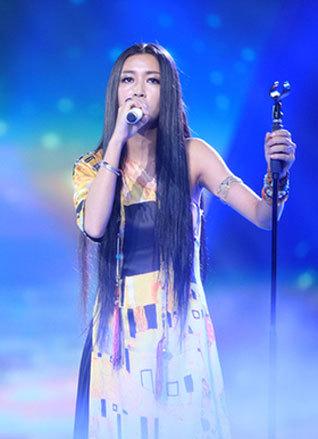 中国梦之声女神央吉玛