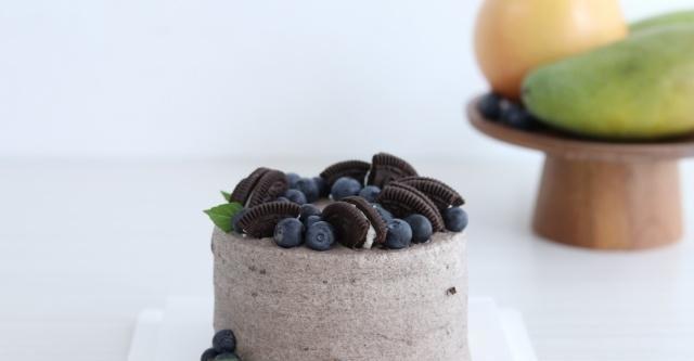 奥利奥蛋糕,甜而不腻,给你清爽一夏