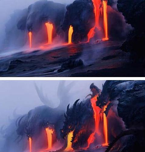 酷!给火山喷发来点特效