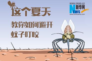 这个夏天,教你如何避开蚊子叮咬