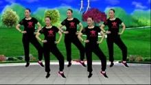 蓝莓思洁原创广场舞《都说二爷美》活力34步 附教学
