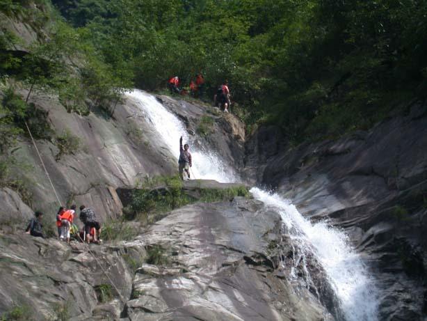 黄仙洞是大洪山风景区的核心景点
