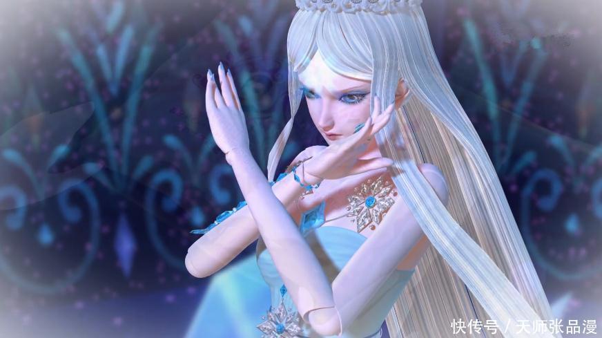精灵梦叶罗丽中谁最适合做老婆?冰公主和王默都上不了图片