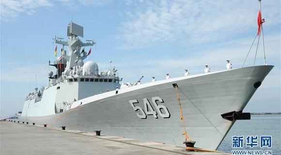 中国海军第二十八批护航编队访问加纳