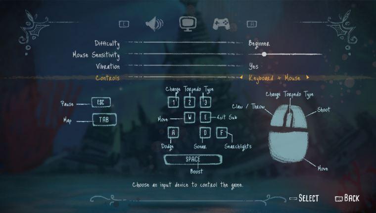 深海之歌怎么操作?按键操作及设置教程分享