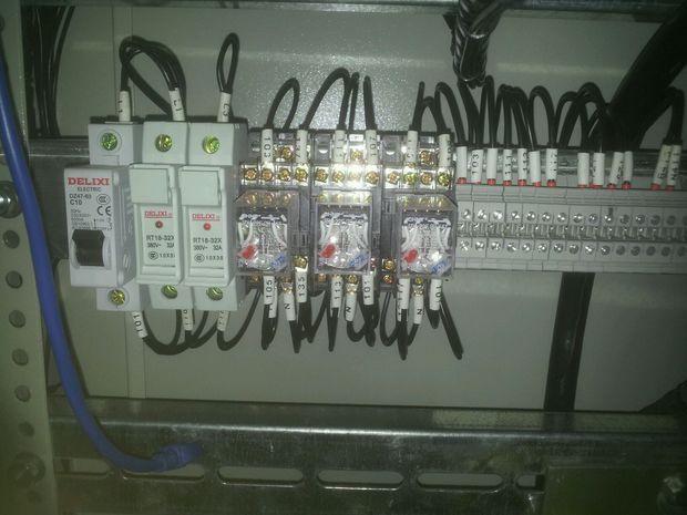 继电器接线图 企业网