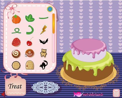 万圣节蛋糕图片