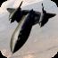 SR-71黑鸟战斗机图片