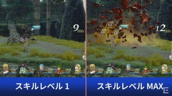 史上最靓RPG《星之海洋5》PS4/PS3对比影像公开