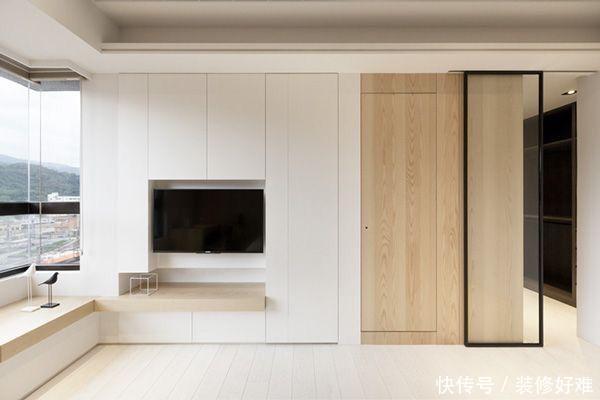 现在装电视背景墙流行这5种设计风格,个个档次高,第1种收纳最强