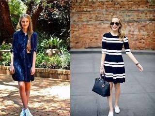 裙子加运动鞋不爱穿高跟鞋的你这么穿会很美