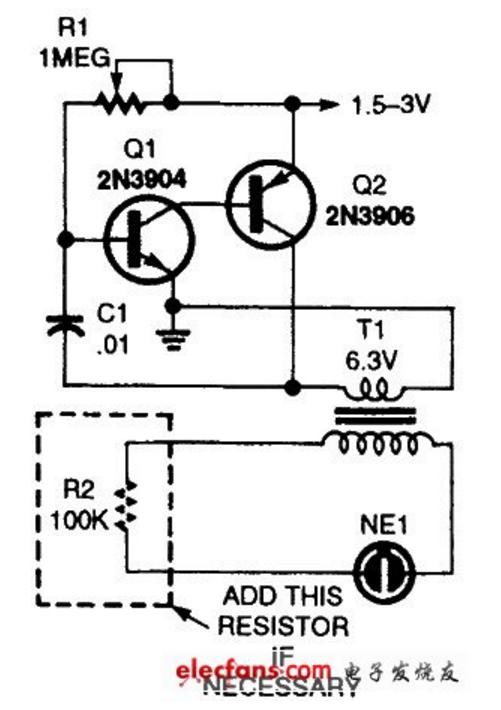 今日见一逆变器电路,不明其原理,求告知,附图
