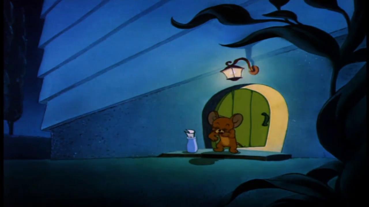 猫和老鼠:杰瑞被小狗狗跟踪,好可爱的小狗狗啊,要带回家么