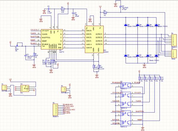 plc和步进电机驱动器接线图