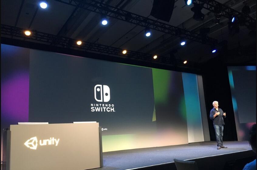 Unity引擎宣布支持任天堂新主机NS