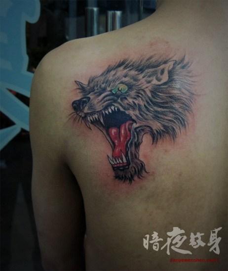 上海暗夜纹身店