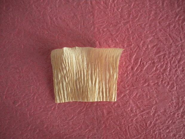 皱纹纸纸花水仙花的做法