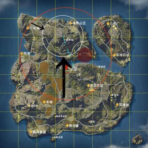 荒野行动怎么看地图和信号 看地图和信号操作方法技巧