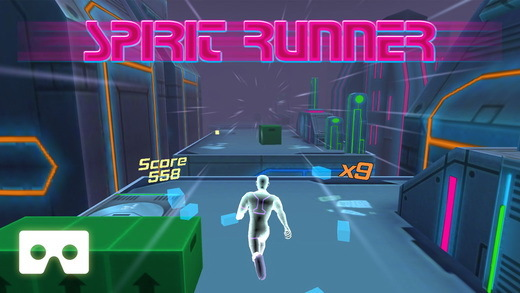 跑酷游戏《Spirit Runner VR》内含特殊VR模式内容