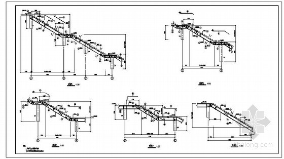 梁式楼梯 板式楼梯 板式楼梯通用图 一般住宅楼用的都是板式楼梯图片