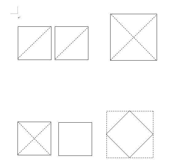 怎样用两个面积为1的小正方形剪拼成一个面积为2的大