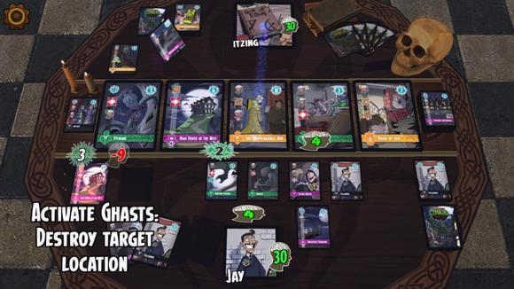 类炉石卡牌游戏《邪神国度》上架IOS