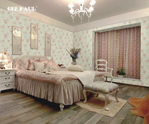女生卧室贴什么颜色的壁纸好看?