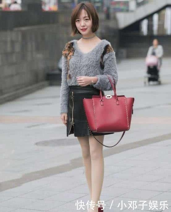 信号美女蕾丝性感长筒袜,搭配超短臀裙,黑色指最强-微穿着微商情趣图片