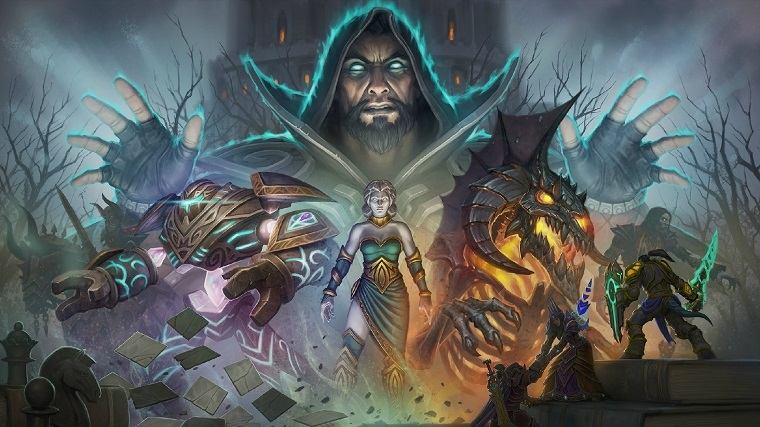 《魔兽世界》7.1版宣传图