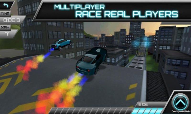 汽车飞跃比赛 修改版截图1