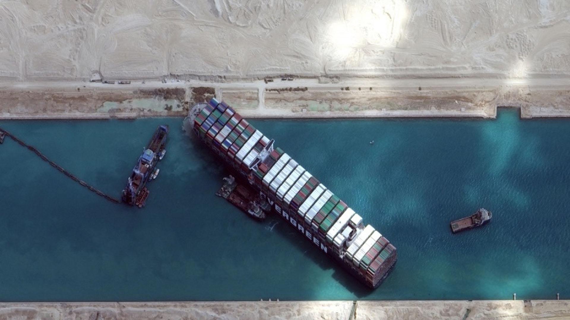 """""""长赐号""""遭索赔九亿美元 日本船东要求打一折"""