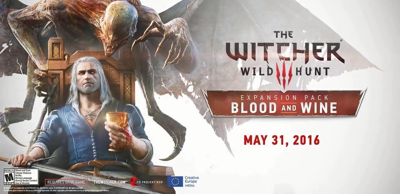 《巫师3 血与酒》绝美宣传片