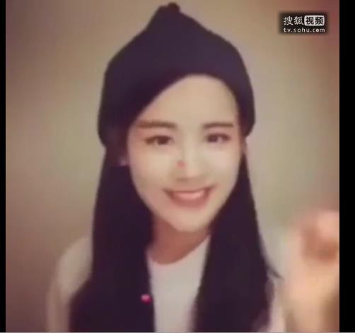 经典韩国甜美女生爱心舞第一个戴帽子的女生是谁