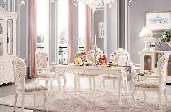 哪里有欧式风格的餐桌卖?图片