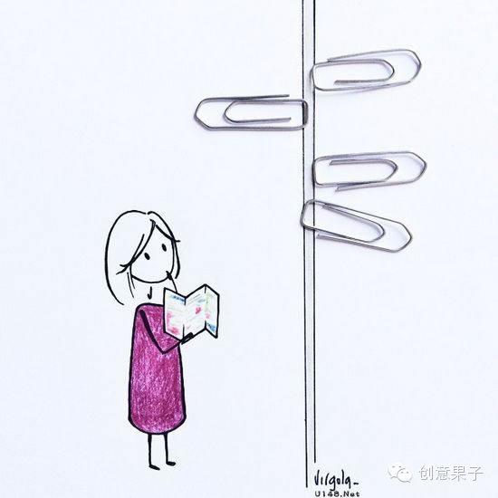校园美简笔画图片内容图片展示